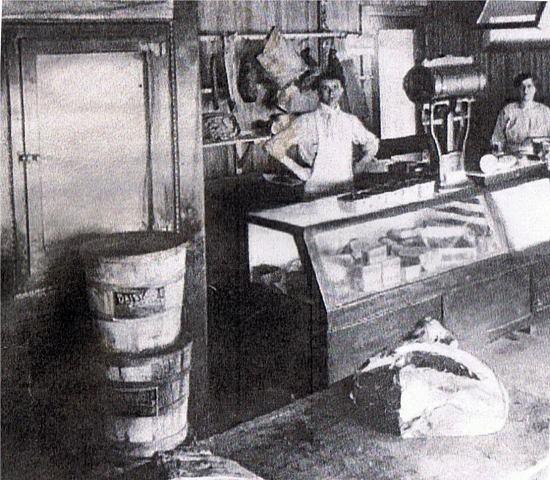 Helen and Bernhard Schmitt's Butcher Shop